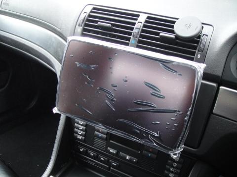 BMW E39 社外ナビ設置
