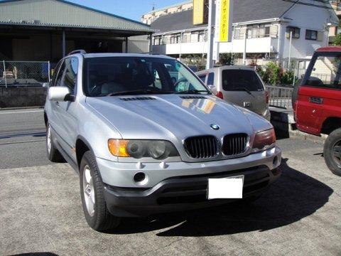 BMW X5 純正ナビ交換