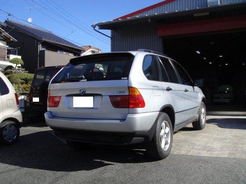BMW X5 社外ナビ設置作業