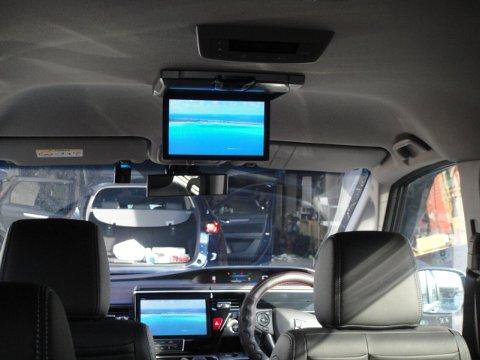 RPステップワゴン 社外製後席モニター設置