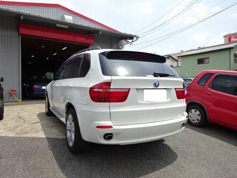 BMW X5 カーエアコン修理作業