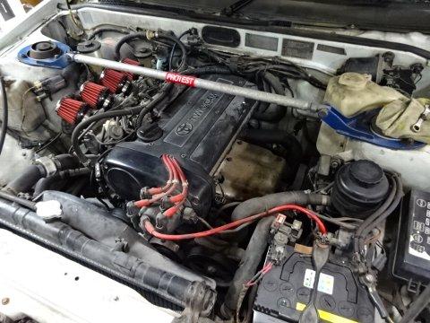 R12 トレノ レビン エアコン故障を直します