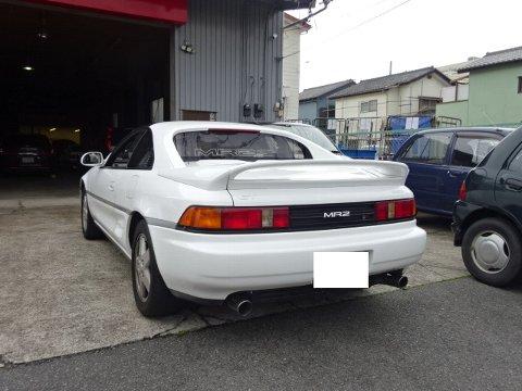 トヨタMR2 カーエアコン故障