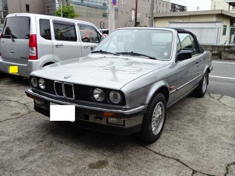 BMW E30 エアコン修理作業